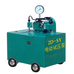 Electric hydraulic test pump