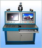 Rubber tube pressurization blasting testing table
