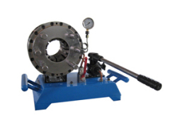 Manual hose crimping machine