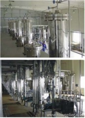 High-efficiency chromatography column and system device