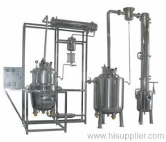 Multi-function extraction concentration reclamation set