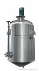 Alcohol depositing tank