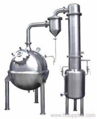 Roundness vacuum concentration tanks