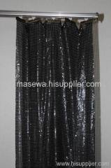 Black aluminum alloy curtain