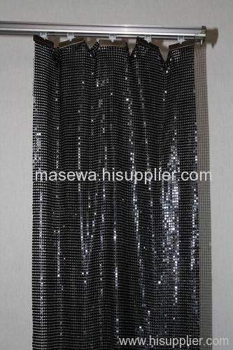Black aluminum alloy curtain