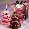 2011 New Design Wedding Cake Candle