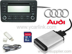 Audi 8pin USB SD interface ( cd changer alternative )