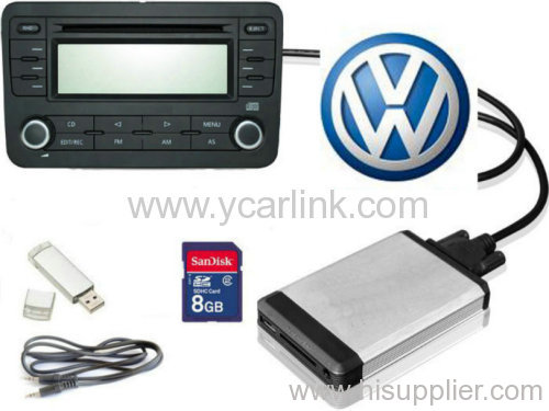 VW 8pin USB SD interface ( digital music changer)