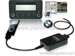 BMW ipod iphone car kit interface adapter (17pin flat )