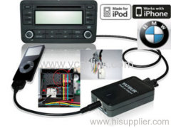 BMW ipod iphone car kit interface adapter (40pin round )
