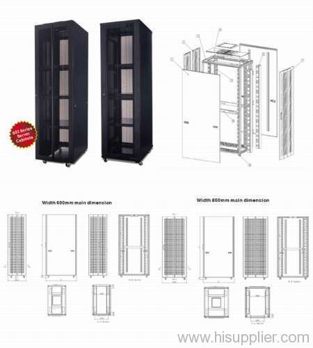 """19"""" Stand Service Network Cabinet"""