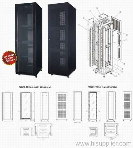 """19"""" Stand Network Cabinet"""