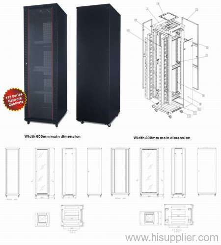 Network Wall Mount Cabinet