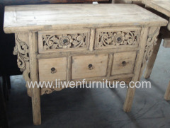 antique carved tables