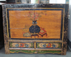 Asia furniture Mongolia cabinet