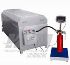 Pumping CO2 filling machine