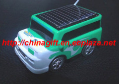 Solar powered remote conteol car