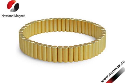 neodymium magnets with gold coating
