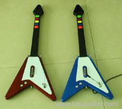 PS2 V shape guitar