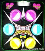 DVD dancing mat