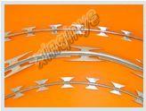 Galvanized razor wire mesh