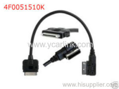 4f0051510k Audi AMI ipod iphone cable