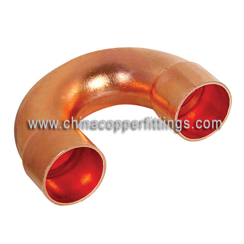 Copper fitting degree return bend from china