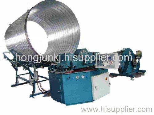 rectangular ducting machine