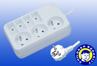 French Electric socket