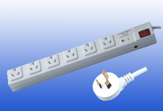 Australian Type 6way Extension Socket