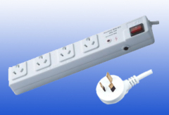 Australia Type 4way Extension Socket