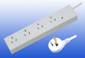 4way Extension Socket Australia Type