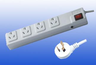 Australia Type 4outlet Extension Socket