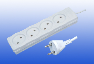 Holand Type 4outlet electrical socket
