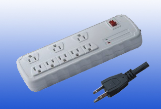 USA wall socket with certificate