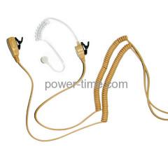 Two way radio earphone