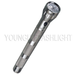 37 LEDs Metallic Flashlight