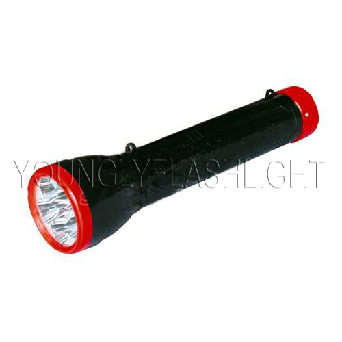 6 LEDs Rechargeable Flashlight