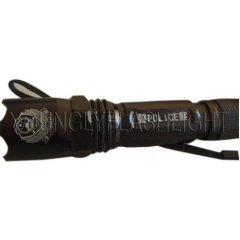 LED High Power Rechargeable Police and Military Flashlight