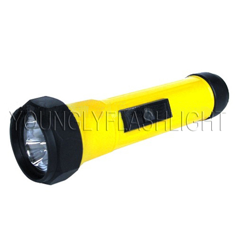 3 Leds Plastic Flashlight