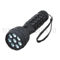 8 Leds Super Bright Plastic Flashlight
