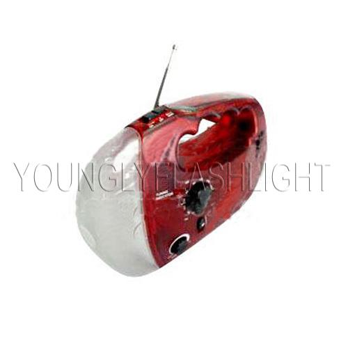 Mini Rechargeable Radio Flashlight