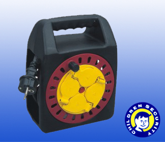 German type 25m power cable reel