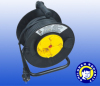 spring retractable cable reel