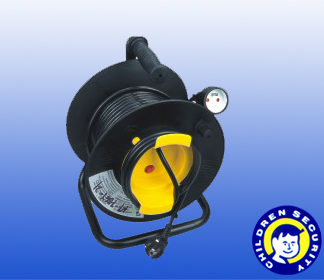French type 25m Coaxial Cable Reel