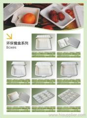 Bio-gradable Disposable Lunch Boxes