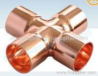 Equal Cross copper fitting