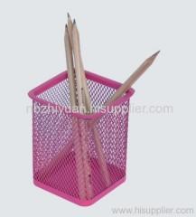Metal Mesh Pen Cup