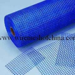 Coated alkali-resistant fiberglass mesh cloth