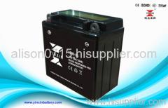 12V9AH lead acid motorcycle battery